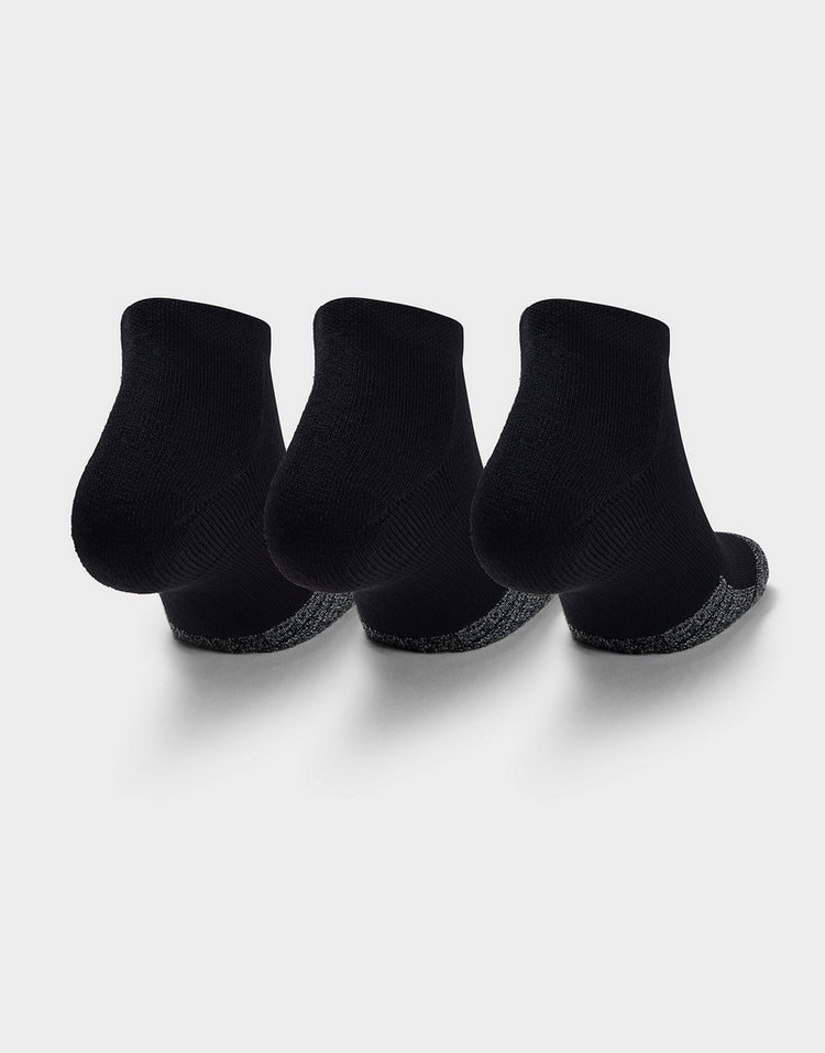 Under Armour Adult HeatGear Lo Cut Socks 3-Pack