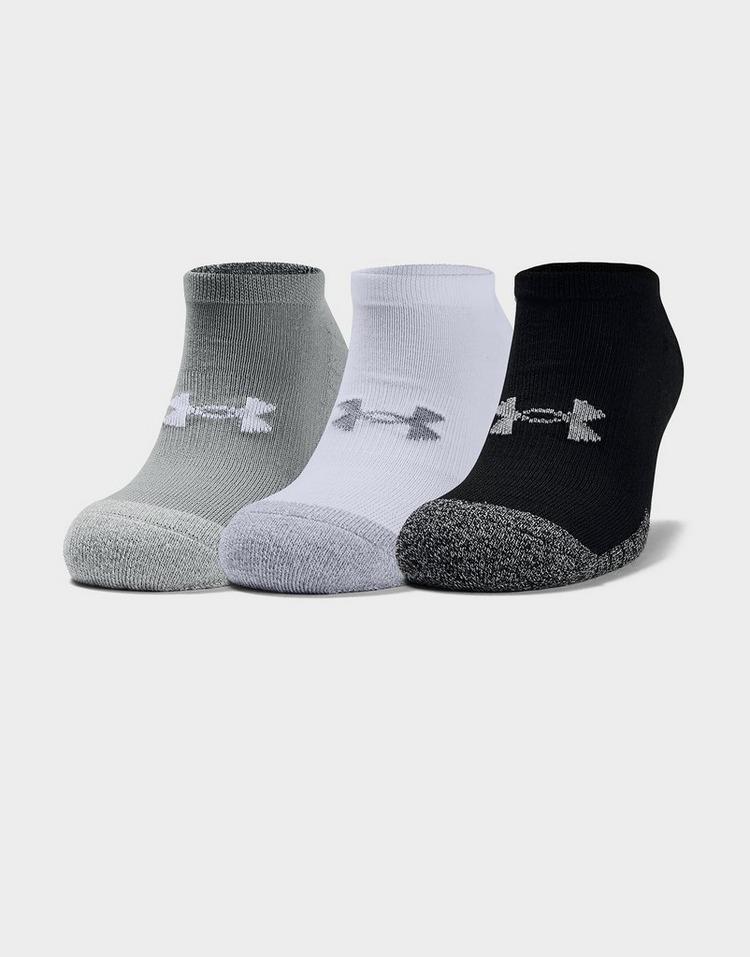Under Armour Pack de 3 paires de chaussettes HeatGear Tech No Show Homme