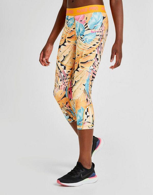 04cb99a9a Nike Girls' All Over Print Capri Leggings Junior | JD Sports