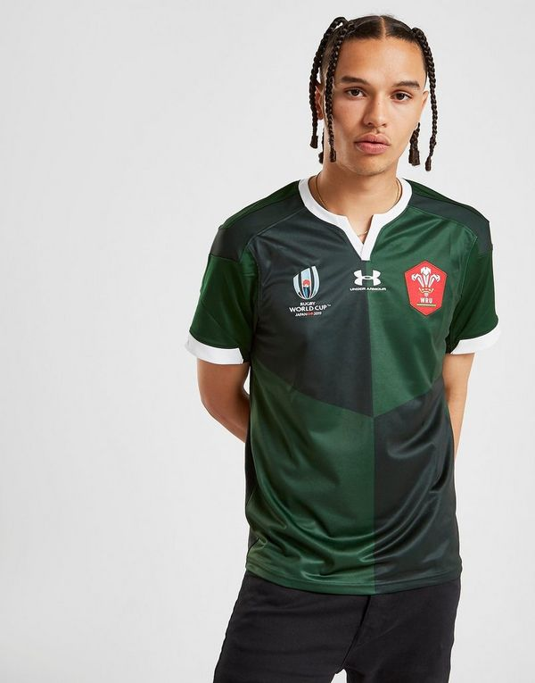 Under Armour Wales RU Rugby World Cup 2019 Replica Shirt