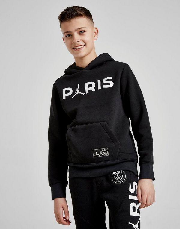 cad373bd13f1b9 Jordan x Paris Saint Germain Hoodie Junior