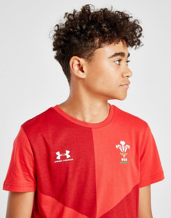 Under Armour Wales RU Graphic T-Shirt Junior