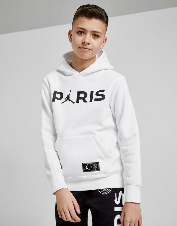 77edd030 Jordan x Paris Saint Germain Hoodie Junior | JD Sports