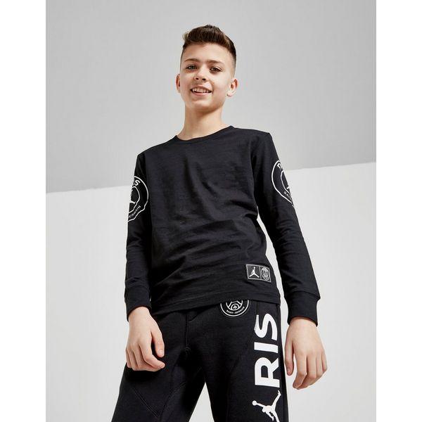 Jordan x Paris Saint Germain Jock Tag T-Shirt Junior