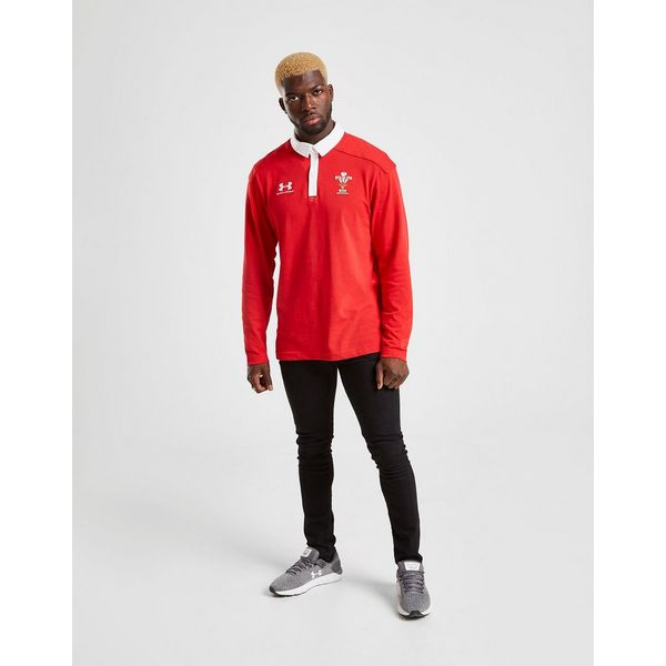 Under Armour Wales RU Rugby Polo Shirt