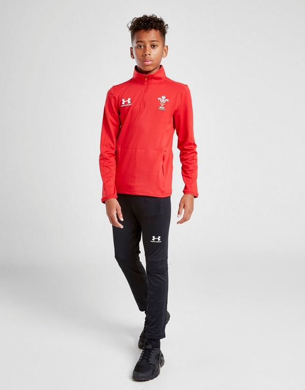 Under Armour Wales RU 1/4 Zip Track Top Junior