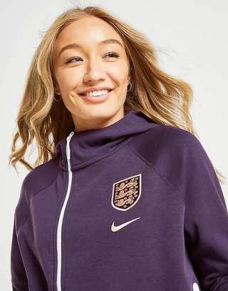 Nike England WWC Tech Fleece Cape Hoodie