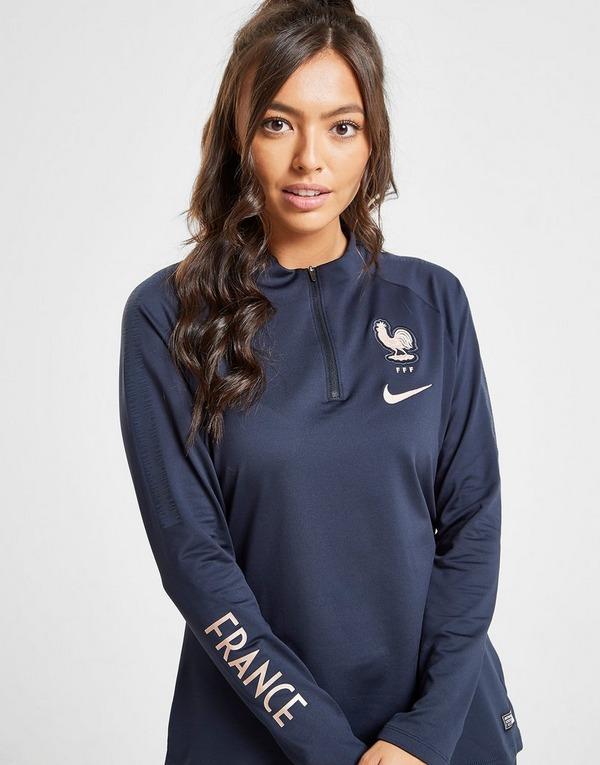 Nike camiseta técnica de manga larga Selección Francia Squad Drill