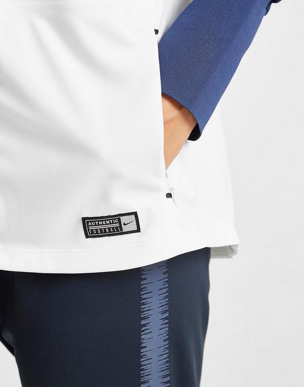 Shoppa Nike Frankrike Uppvärmningsjacka i en Vit färg | JD