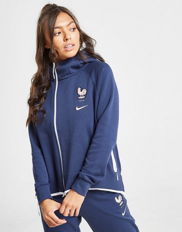 Nike chaqueta con capucha Selección Francia Tech Fleece Cape