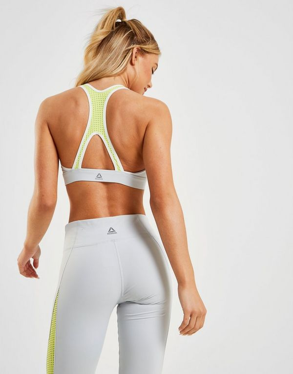 Reebok Colour Block Mesh Bra