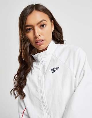 Reebok Vector Woven Full Zip Track Top