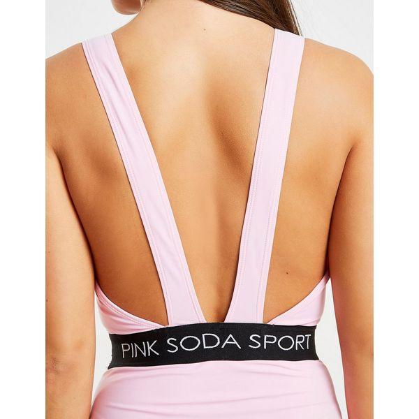 Pink Soda Sport Elasticated Waist Swimsuit