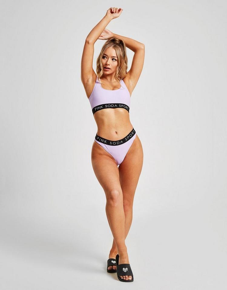 Pink Soda Sport braguita de bikini Tape