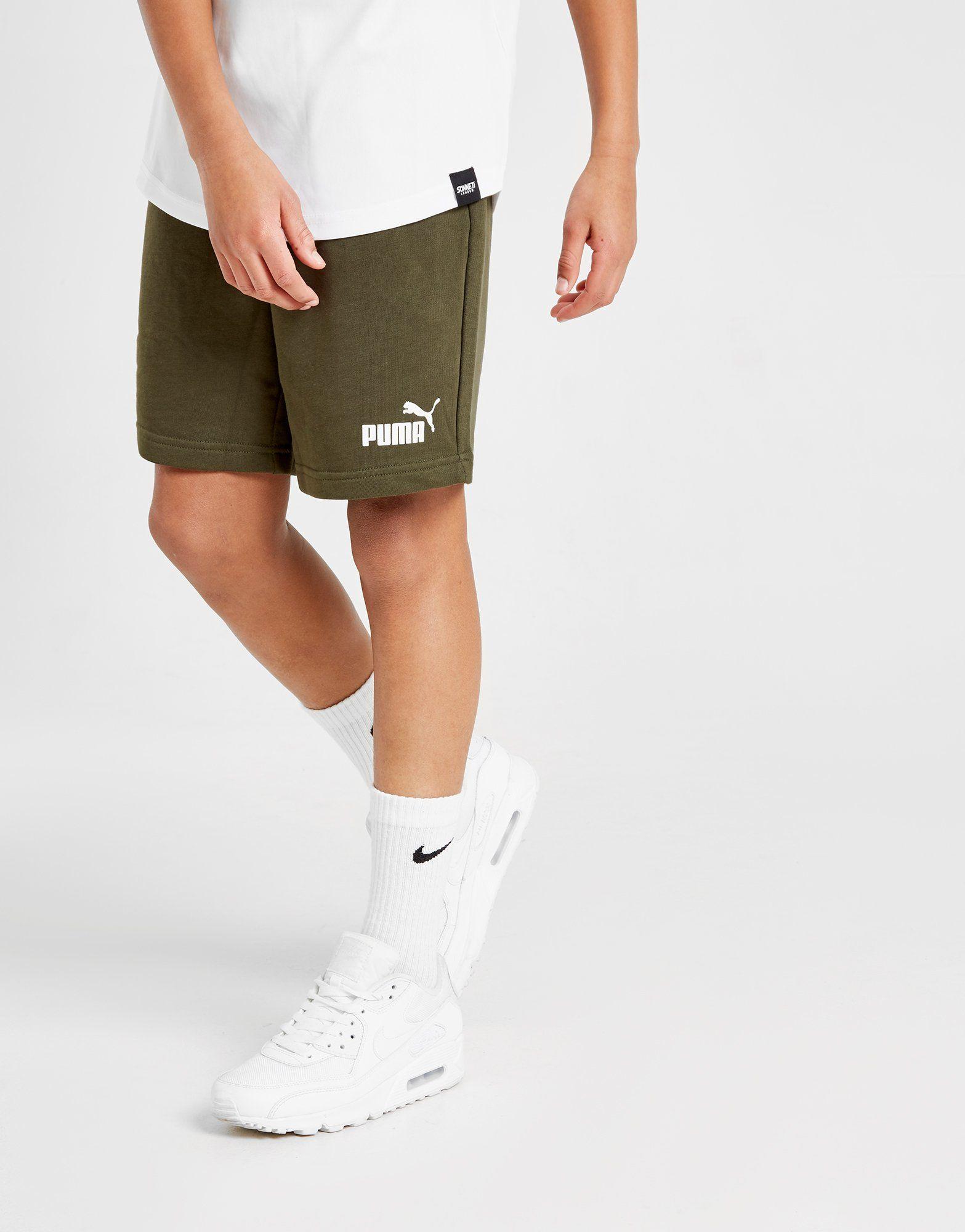 ab1d2e9823d PUMA Essential Sweat Shorts Junior | JD Sports