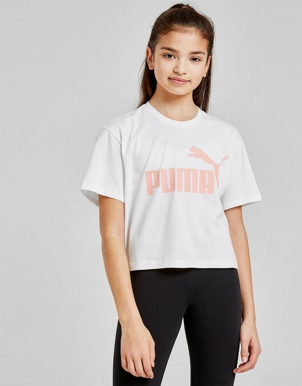 9afb31c8345 PUMA Girls' Core Crop T-Shirt Junior | JD Sports