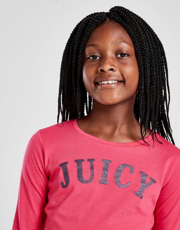 Juicy by Juicy Couture camiseta de manga larga Girls' Juicy júnior
