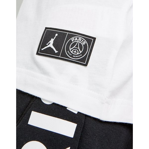 Jordan x Paris Saint Germain Jock Tag T-Shirt Junior