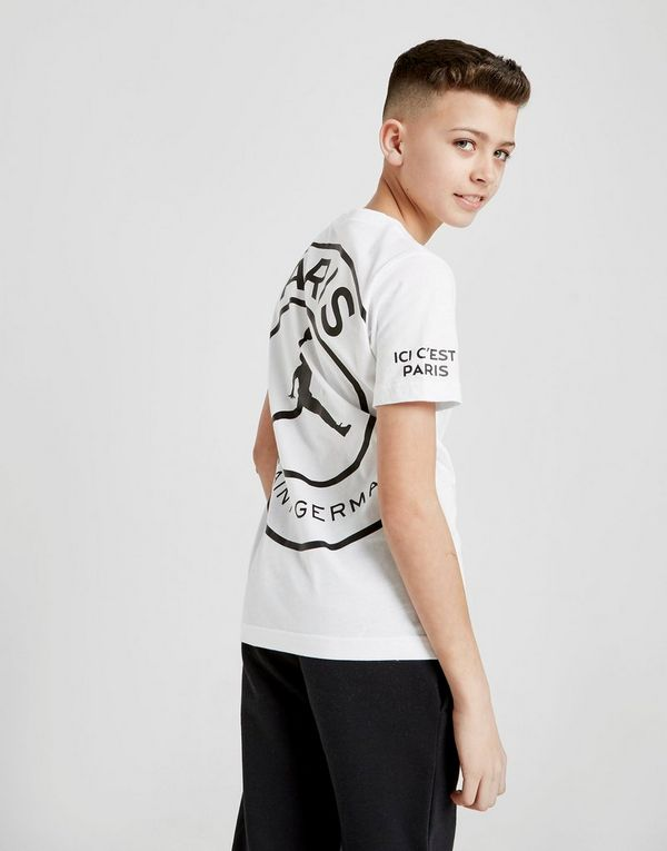Jordan x Paris Saint Germain Logo T-Shirt Junior