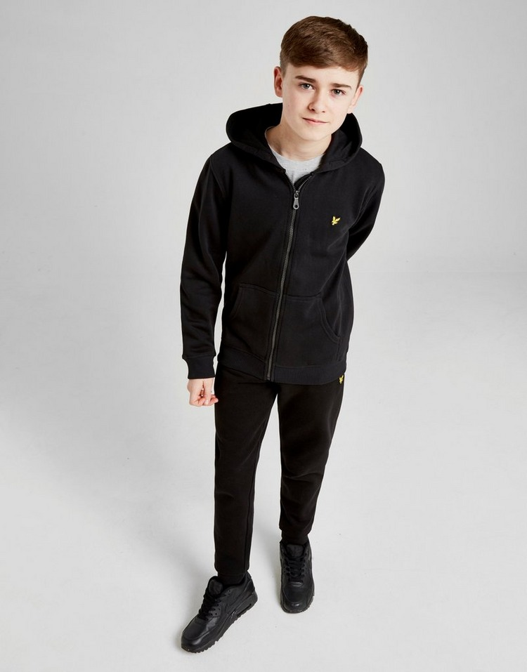 Lyle & Scott Logo Full Zip Hoodie Junior