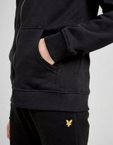 Lyle & Scott Junior hoodie met rits en logo