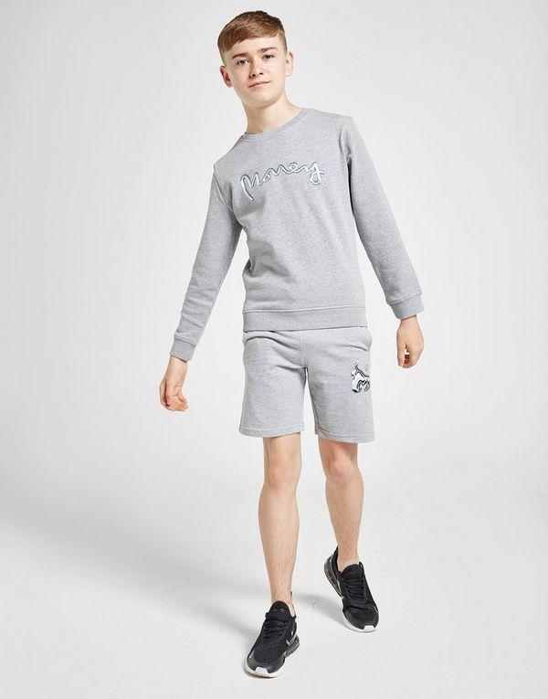 Money Clothing Chrome Ape Crew Sweatshirt Junior