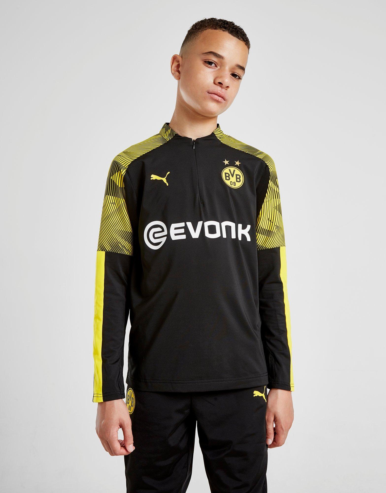 PUMA Haut Borussia Dortmund 14 Zippé Junior   JD Sports