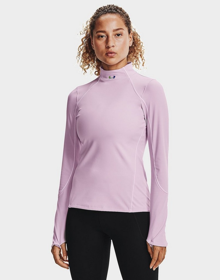 Under Armour Baselayer à col montant RUSH ColdGear Jacqrd