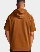 Under Armour rival fleece multilogo short sleeve hoodie