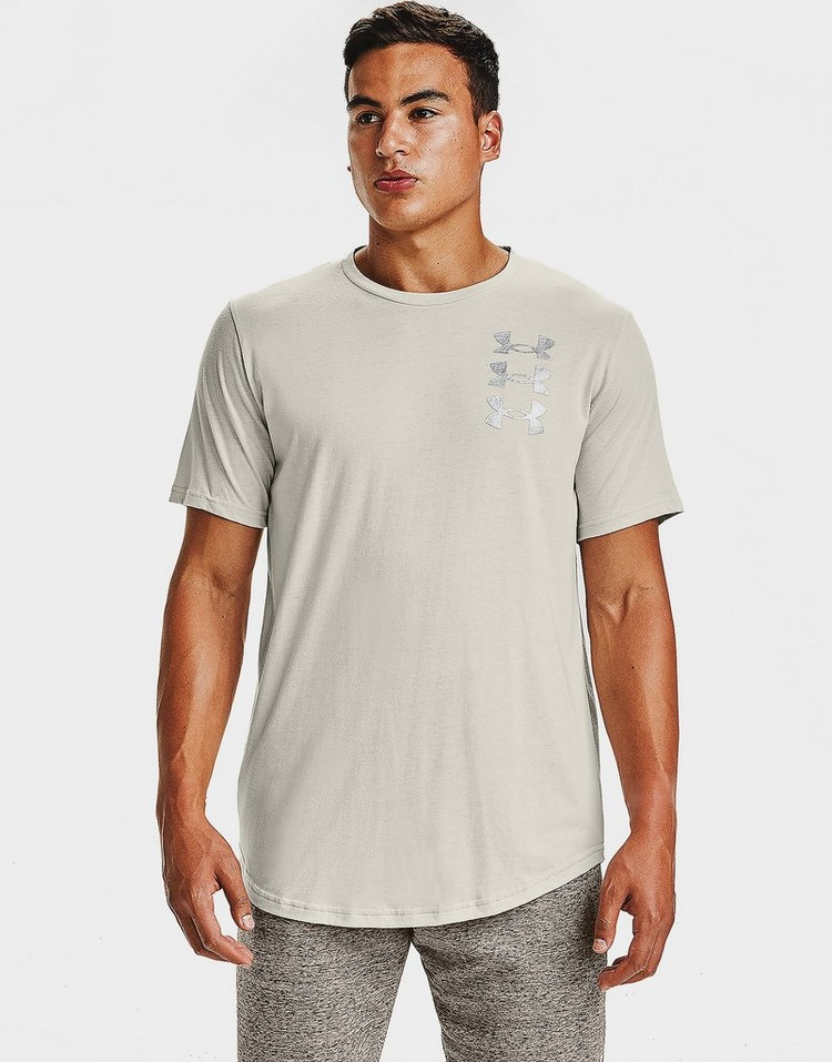 Under Armour triple stack logo short sleeve