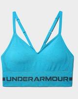 Under Armour Seamless Low Long Heather Sports Bra