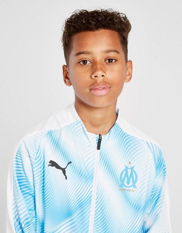 PUMA Olympique Marseille Stadium Jacket Junior