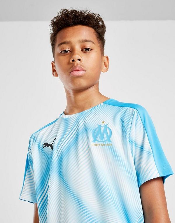 PUMA Olympique Marseille Stadium Shirt Junior