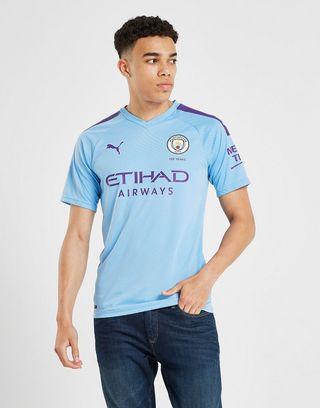 PUMA Manchester City FC 2019/20 Hjemmebane Authentic Trøje Herre
