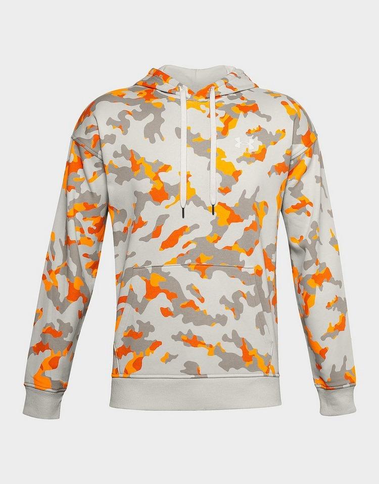 Under Armour Sweat à capuche motif camouflage Rival Fleece