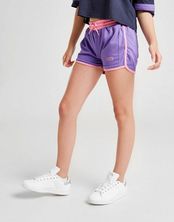 Juicy by Juicy Couture Girls' Mesh Shorts Junior