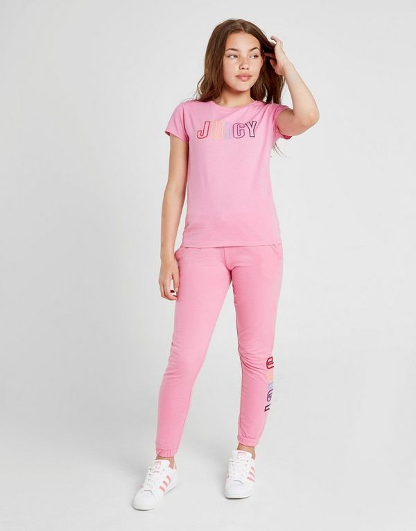 Juicy by Juicy Couture Girls' Logo T-Shirt Junior