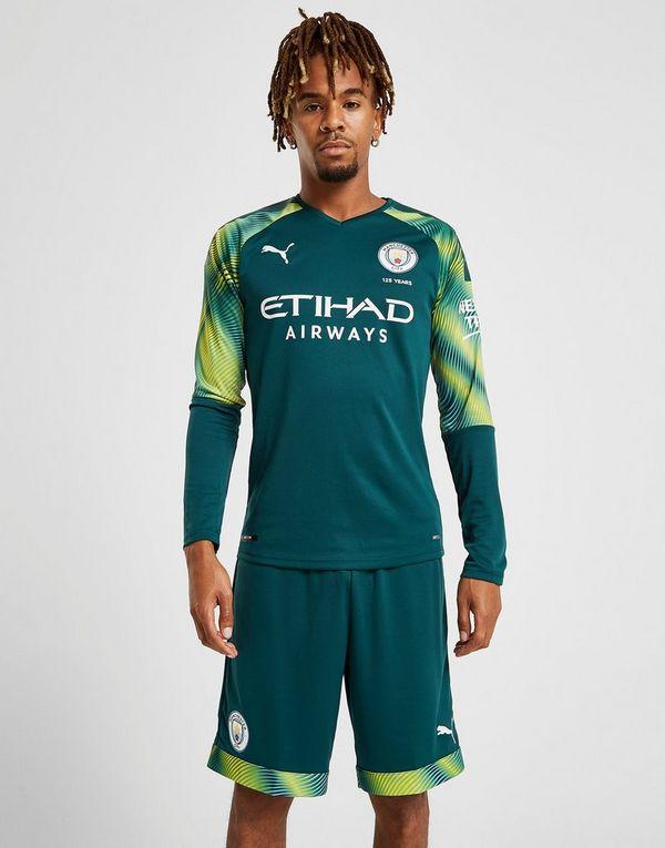 PUMA Manchester City 201920 Goalkeeper Away Shorts