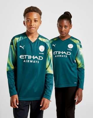 new styles ca47a 6322c PUMA Manchester City 19/20 Goalkeeper Home Shirt Junior | JD ...