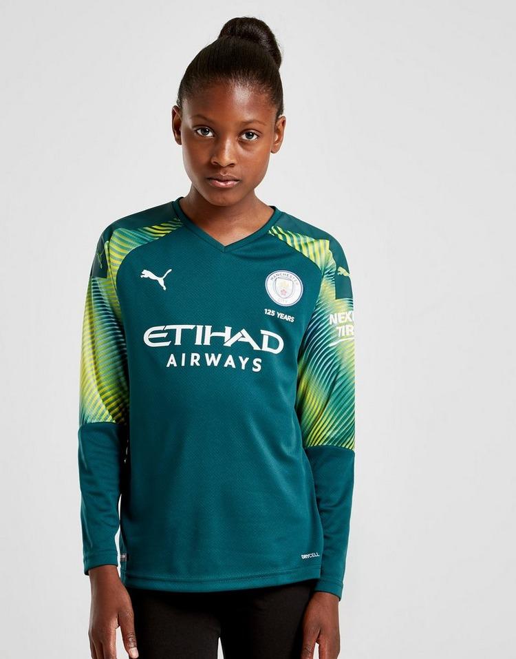 Puma Manchester City 19/20 Goalkeeper Home Shirt Junior