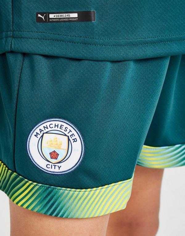 PUMA Manchester City 19/20 Goalkeeper Home Shorts Junior