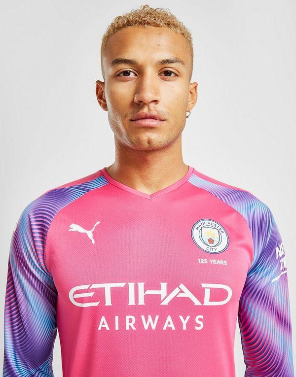 the best attitude da03c ef089 Puma Manchester City FC 2019/20 Goalkeeper Away Shirt   JD ...