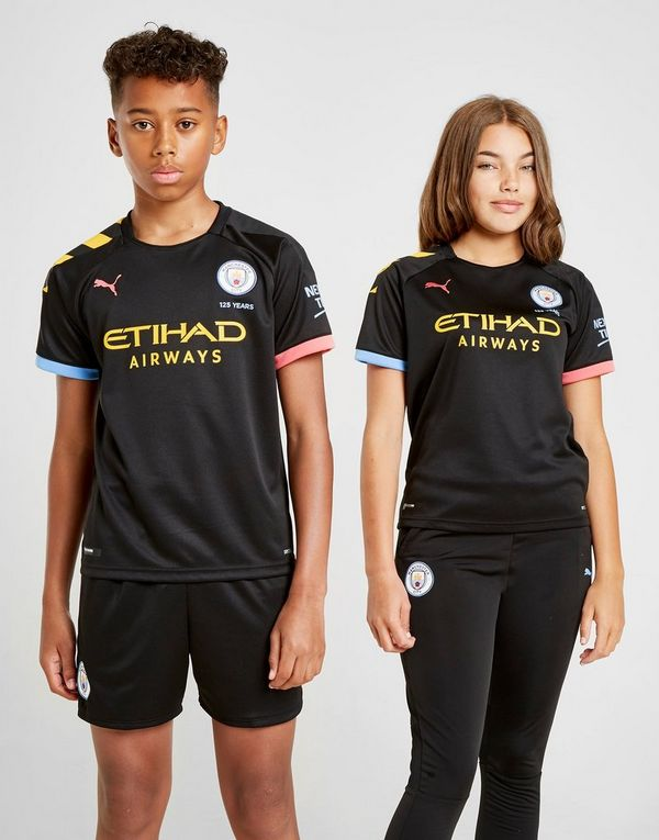 Puma Manchester City FC 2019/20 Away Shirt Junior
