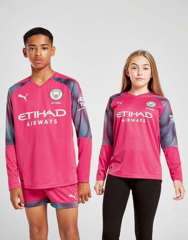 new arrivals af52e 4e9de Puma Manchester City 19/20 Goalkeeper Away Shirt Junior   JD ...