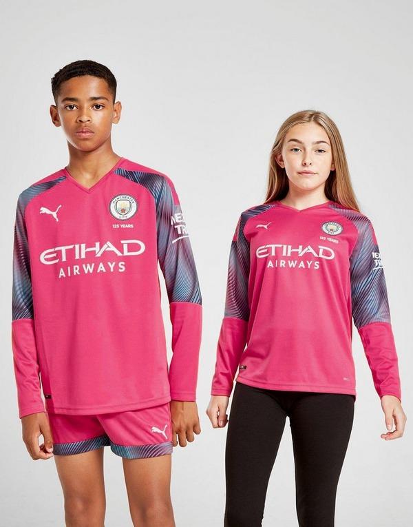 Puma Manchester City 19/20 Goalkeeper Away Shirt Junior