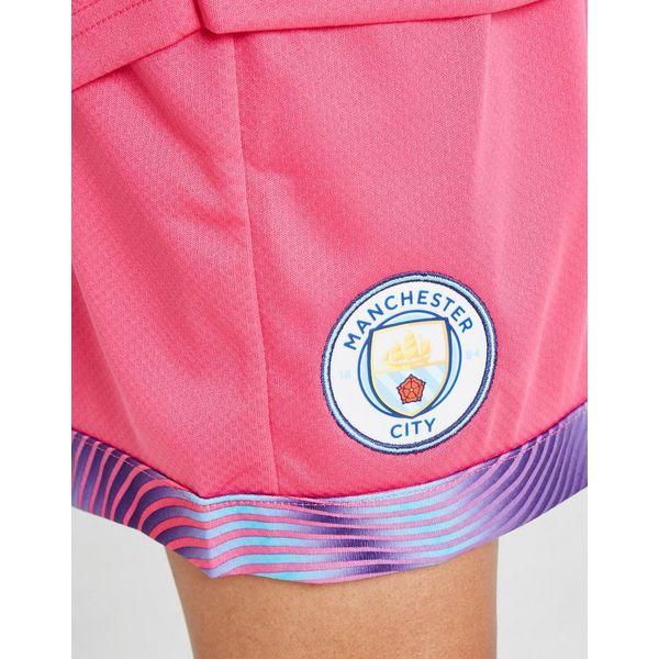 Puma Manchester City 19/20 Goalkeeper Away Shorts Jnr