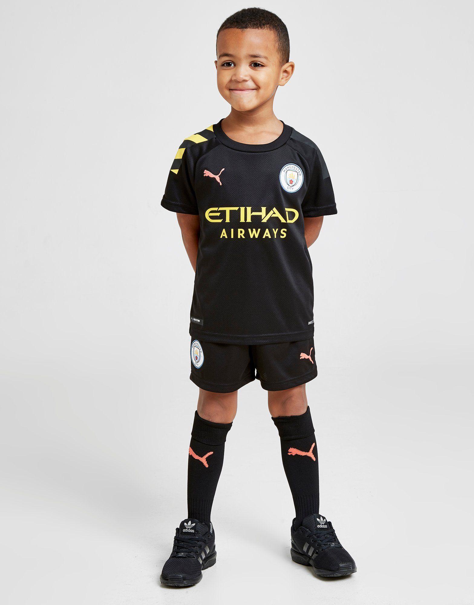 sports shoes 6cc2b 4ad13 Puma Manchester City FC 2019/20 Away Kit Children | JD Sports