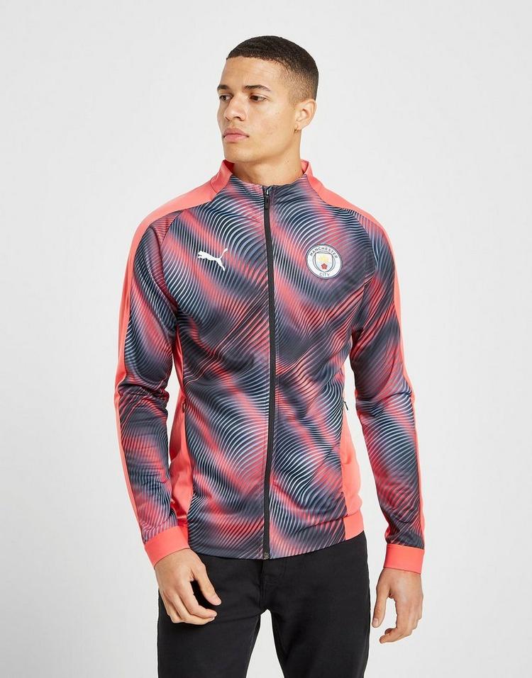 En consecuencia maníaco Resonar  Buy Pink PUMA Manchester City FC Stadium Jacket | JD Sports