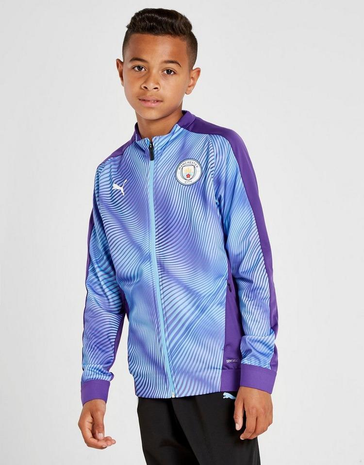 PUMA Manchester City FC Stadium Jacket Junior