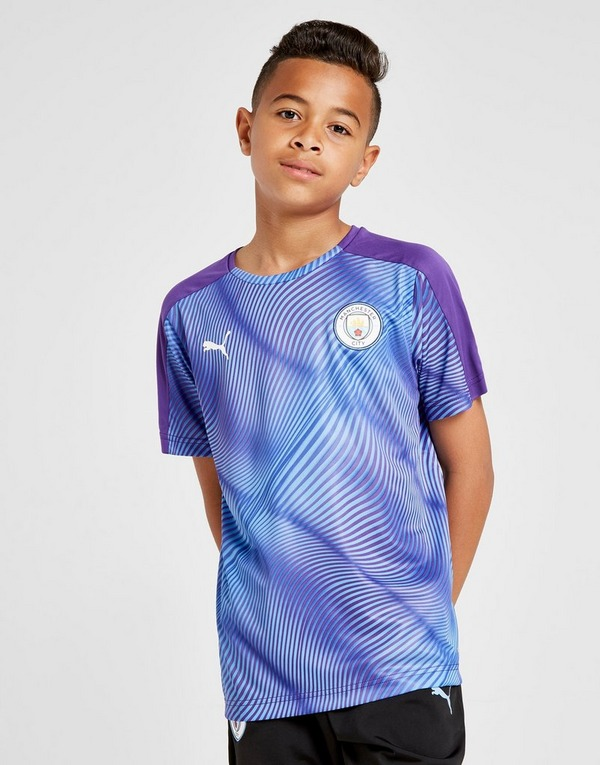 Puma Manchester City FC Stadium Shirt Junior
